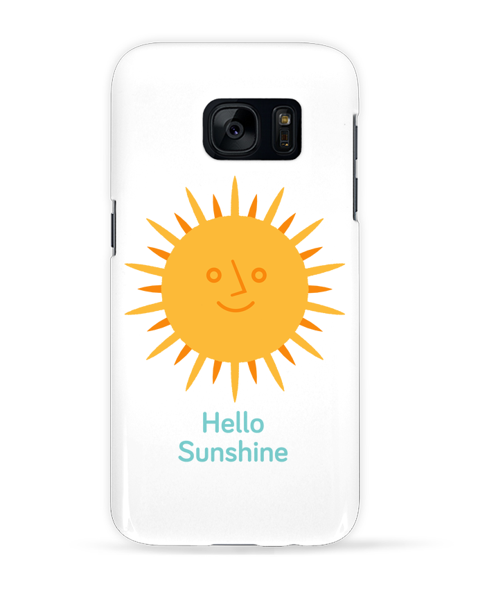 Case 3D Samsung Galaxy S7 HelloSunshine by chriswharton