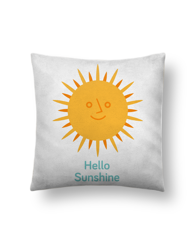 Cushion suede touch 45 x 45 cm HelloSunshine by chriswharton