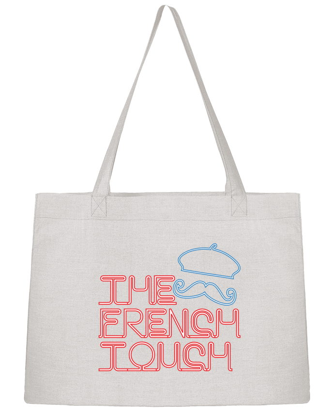 Shopping tote bag Stanley Stella The French Touch by Freeyourshirt.com