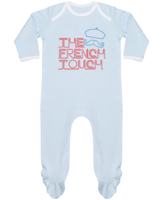 Baby Sleeper long sleeves Contrast The French Touch by Freeyourshirt.com