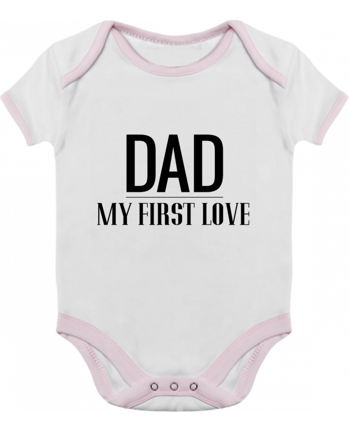 Baby Body Contrast Dad my first love by tunetoo