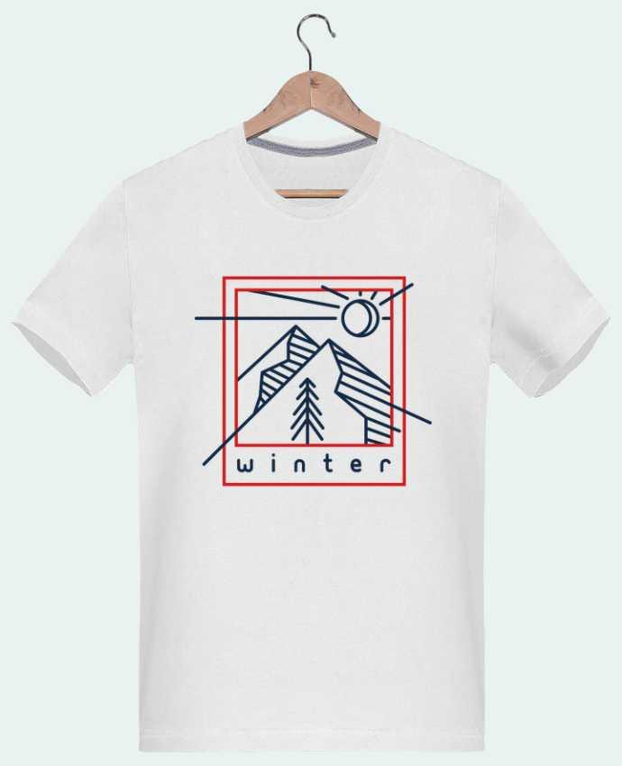 T-Shirt Men 180g Winter polaroid by tunetoo