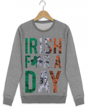 Sweatshirt crew neck Stella Seeks Irish for a day by tunetoo