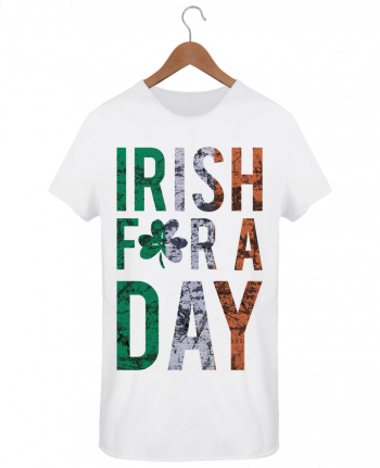 T-shirt Men Oversized Stanley Skates Irish for a day by tunetoo