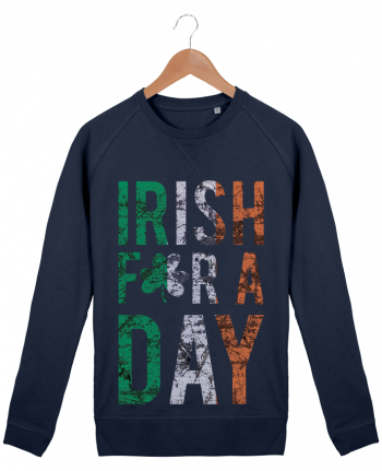 Sweatshirt Men crew neck Stanley Strolls Irish for a day by tunetoo