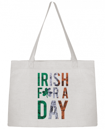 Shopping tote bag Stanley Stella Irish for a day by tunetoo