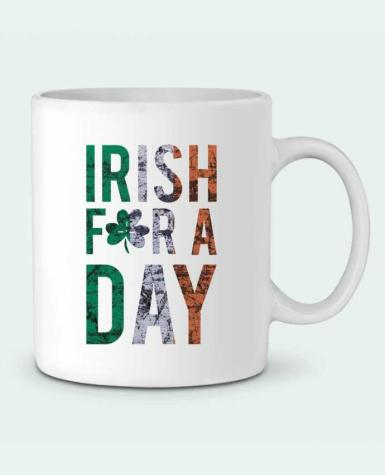 Ceramic Mug Irish for a day by tunetoo