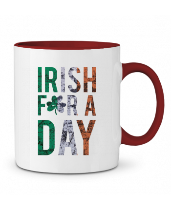 Two-tone Ceramic Mug Irish for a day tunetoo
