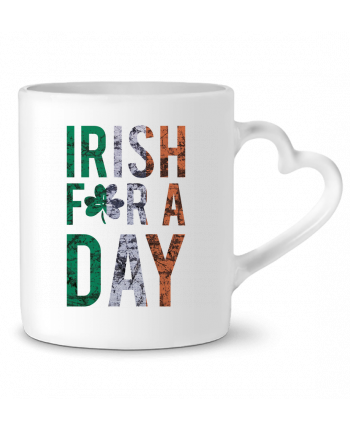 Mug Heart Irish for a day by tunetoo