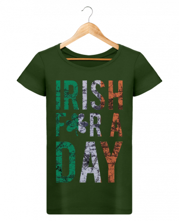 T-shirt Women Stella Loves Irish for a day by tunetoo