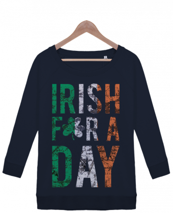 Sweatshirt Women 3/4 sleeve Stella Amazes Tencel Irish for a day by tunetoo