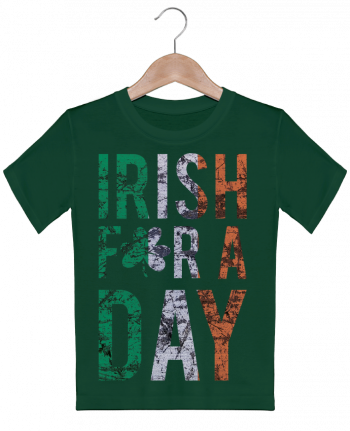 T-shirt garçon motif Irish for a day tunetoo