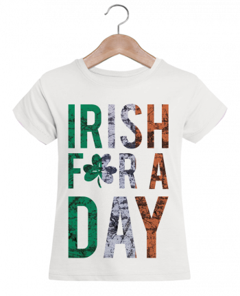 T-shirt Women Stella Draws Irish for a day by tunetoo