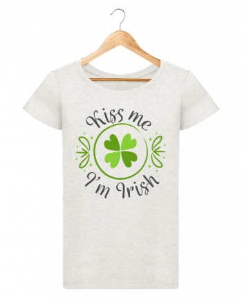 T-shirt Women Stella Loves Kiss me I'm Irish by tunetoo