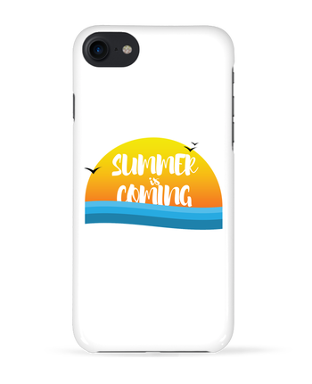 Case 3D iPhone 7 Summer is coming de tunetoo