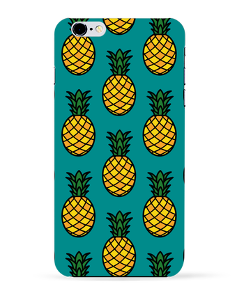 Case 3D iPhone 6+ Ananas orange de tunetoo
