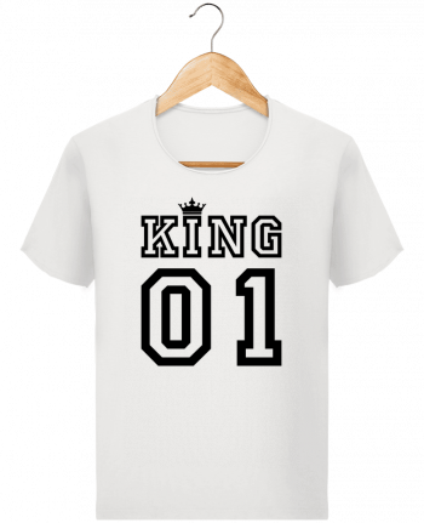 b8b45b8c5 T-shirt Men Stanley Imagines Vintage King 01 by tunetoo