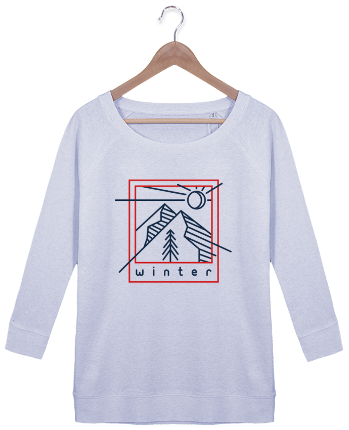 Sweatshirt Women 3/4 sleeve Stella Amazes Tencel Winter polaroid by tunetoo