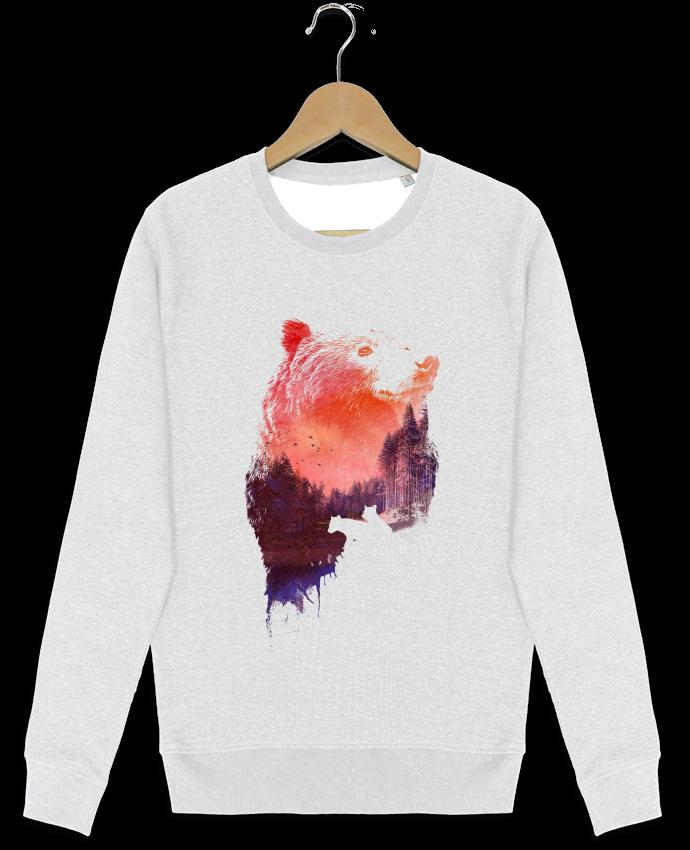 Sweat-shirt Stanley stella modèle seeks Love forever by robertfarkas