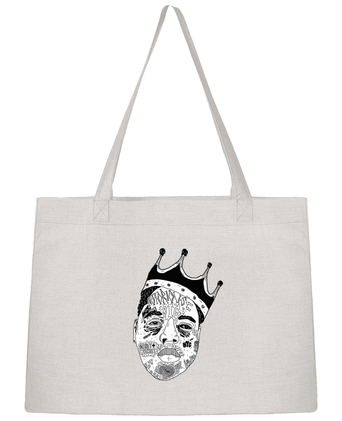 Shopping tote bag Stanley Stella Biggie by Nick cocozza