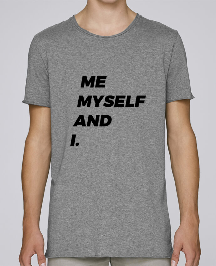 T-shirt Men Oversized Stanley Skates me myself and i. by tunetoo