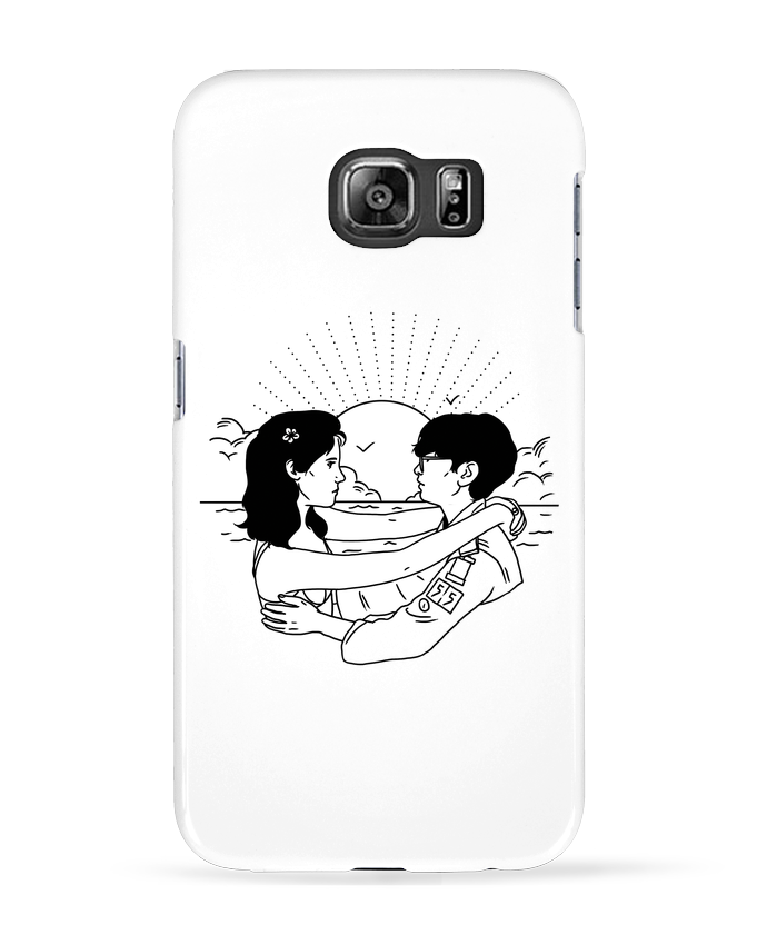 Case 3D Samsung Galaxy S6 Moonrise Kingdom - tattooanshort