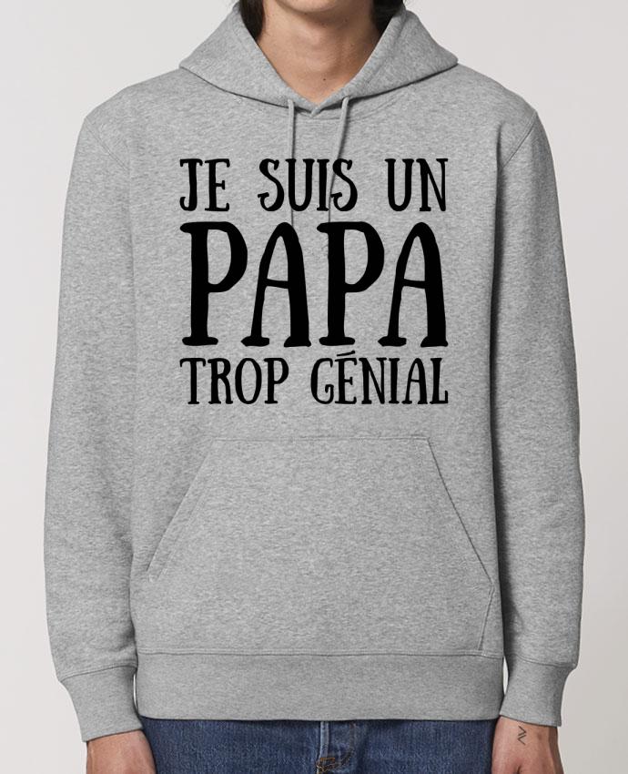 Essential unisex hoodie sweatshirt Drummer Je suis un papa trop génial Par tunetoo