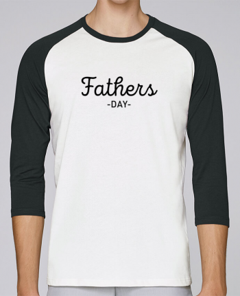 T-shirt Baseball crew-neck unisex stanley stella Father's day by tunetoo