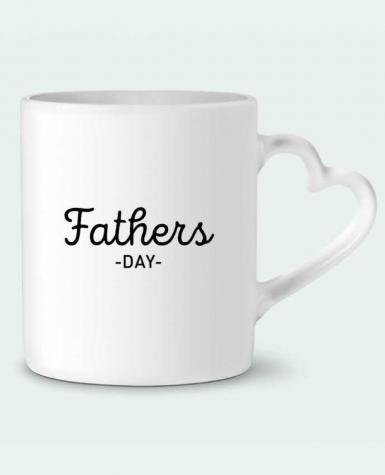 Mug Heart Father's day by tunetoo