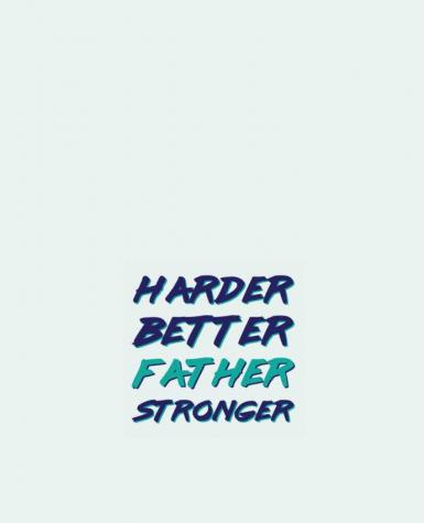 Tote Bag cotton Harder Better Father Stronger by tunetoo
