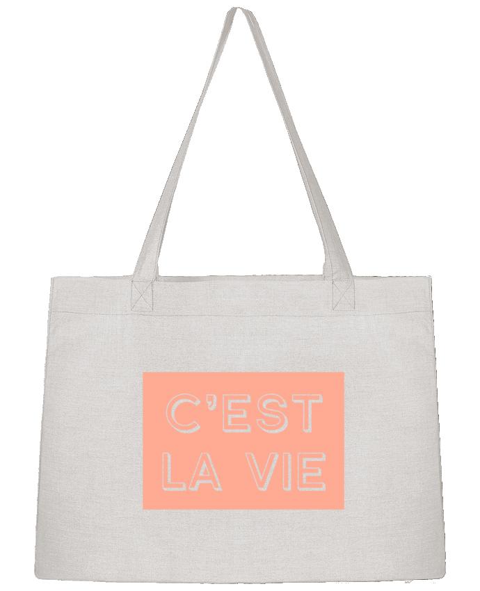Shopping tote bag Stanley Stella C'est la vie by tunetoo