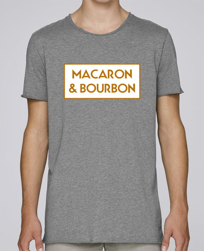 T-shirt Men Oversized Stanley Skates Macaron et bourbon by tunetoo