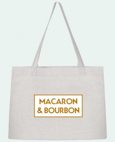 Shopping tote bag Stanley Stella Macaron et bourbon by tunetoo
