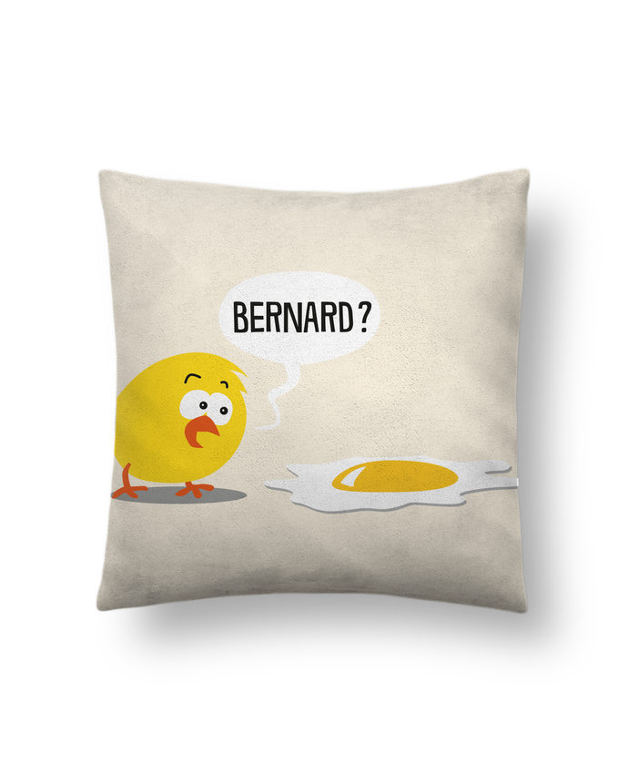 Cushion suede touch 45 x 45 cm Bernard by Rickydule