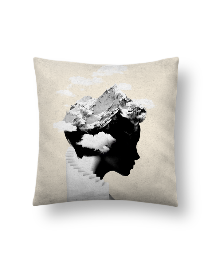 Cushion suede touch 45 x 45 cm It's a cloudy day by robertfarkas