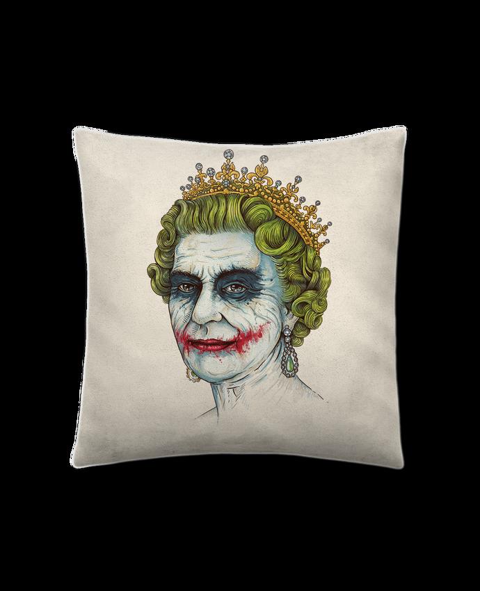Cushion suede touch 45 x 45 cm God sav the vilain by Enkel Dika