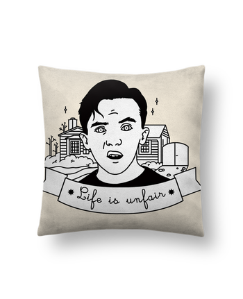 Cushion suede touch 45 x 45 cm Malcolm in the middle by tattooanshort