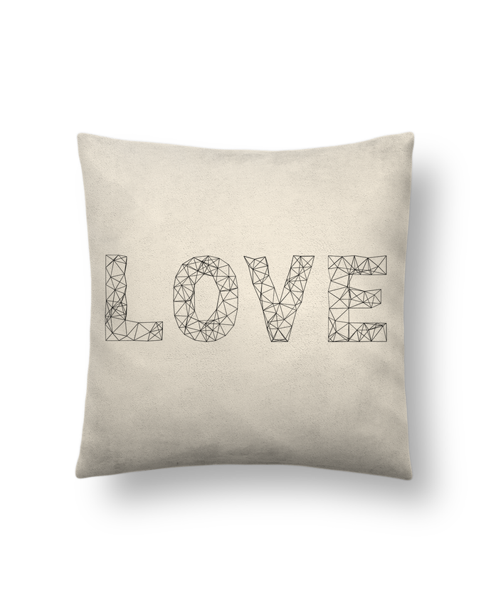 Cushion suede touch 45 x 45 cm Love by na.hili