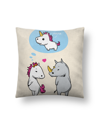 Cushion suede touch 45 x 45 cm Perfect match by flyingmouse365