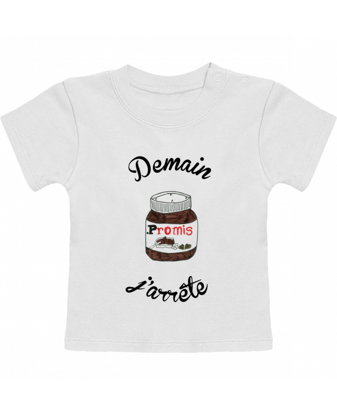 T-Shirt Baby Short Sleeve Demain j