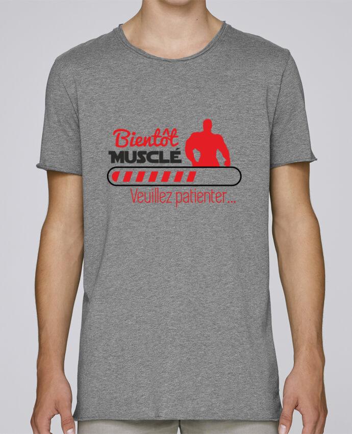T-shirt Men Oversized Stanley Skates Bientôt musclé, musculation, muscu, humour by Benichan