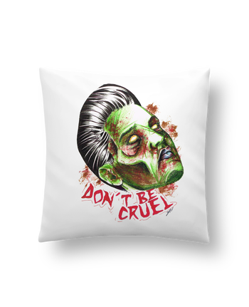 Cushion synthetic soft 45 x 45 cm Don't be cruel by david