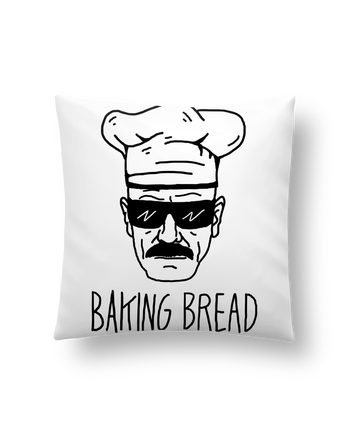 Cushion synthetic soft 45 x 45 cm Baking bread by Nick cocozza