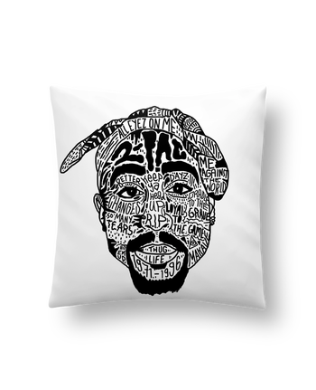 Cushion synthetic soft 45 x 45 cm Tupac by Nick cocozza