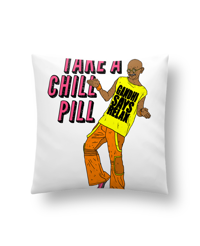 Cushion synthetic soft 45 x 45 cm Chill Pill by Nick cocozza
