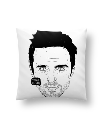 Cushion synthetic soft 45 x 45 cm Jesse Pinkman by Nick cocozza