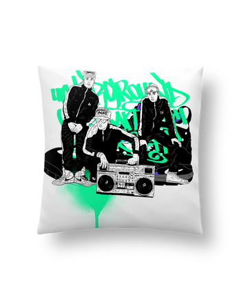 Cushion synthetic soft 45 x 45 cm beastieboys by Nick cocozza