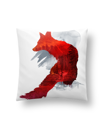 Cushion synthetic soft 45 x 45 cm Bad memories by robertfarkas