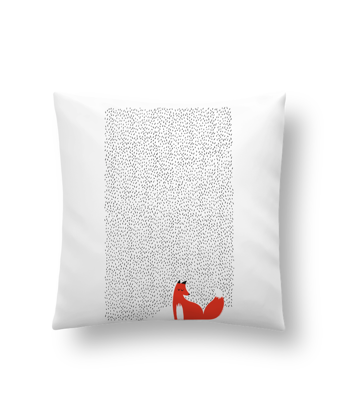Cushion synthetic soft 45 x 45 cm Black grass by robertfarkas
