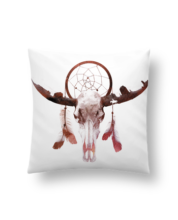 Cushion synthetic soft 45 x 45 cm Deadly desert by robertfarkas